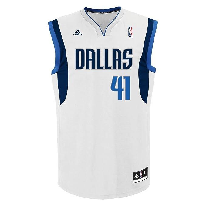 adidas NBA Nowitzki Dallas - Camiseta para Baloncesto ...