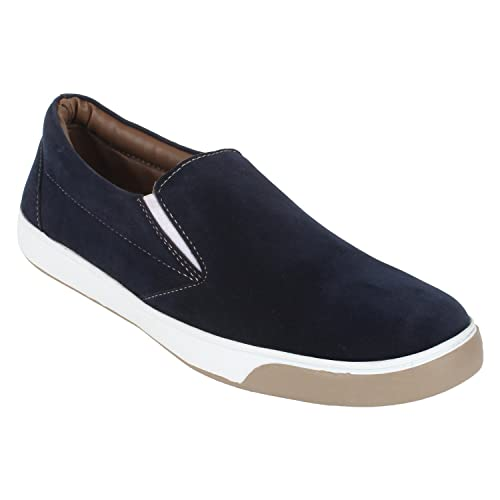 Guava Casual Blue Slip-ons  Buy Online at Low Prices in India - Amazon.in 31479d77553
