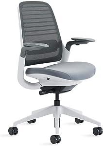 Steelcase Series 1 Office Chair, Carpet, Buzz2/Grey