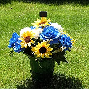 Cemetery Decorations, Cemetery Flower Pot, Cemetery Basket 114