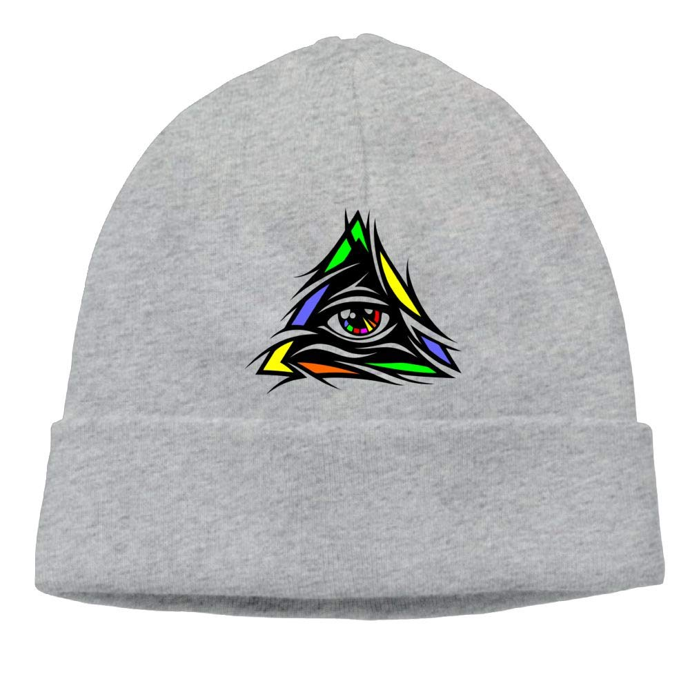 Poii Qon Interesting Colorful Eyes Beanies Hat Knit Cap Womens Mens