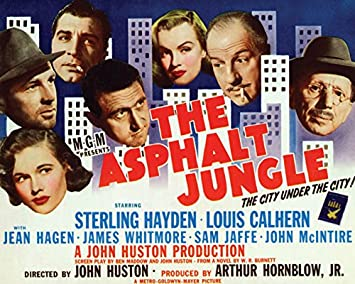 Image result for the asphalt jungle poster amazon