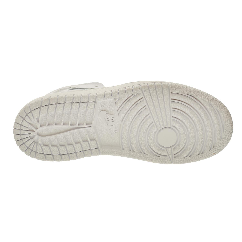 Jordan 1 Mid BP Little Kids Shoes White//Cool Grey-White 640734-102