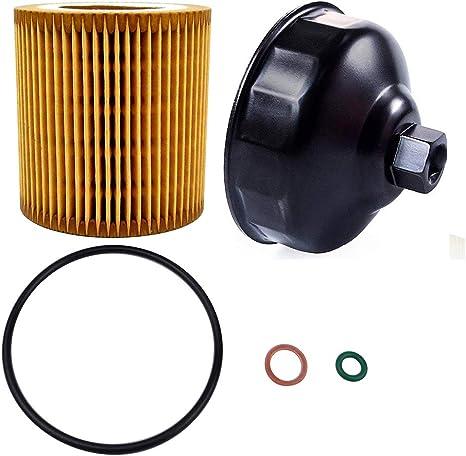 Amazon.com: Ibetter - Llave de filtro de aceite para BMW y ...
