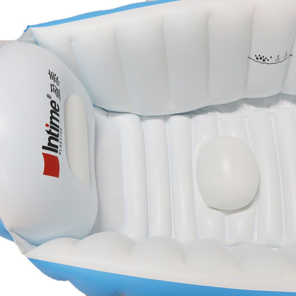 gazechimp bañera hinchable (portátil para niños 0 - 4 años ...