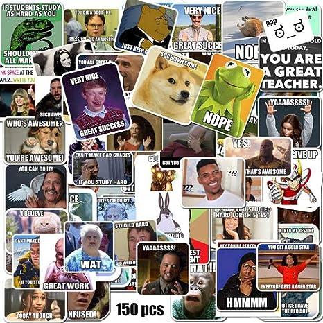 Meme Stickers//Meme Reward Stickers for Teachers 150pcs No Repetition