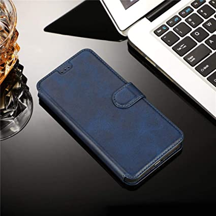 Amazon.com: Retro Leather Magnetic Note10 S10plus Case for ...