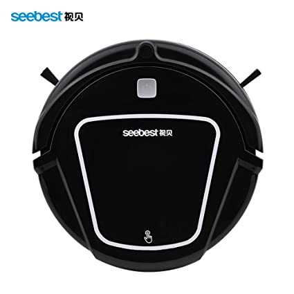 iSweeper Seebest D730 Robotic Vacuum Cleaner with 2 Layer HEPA Filters Wet Mopping(Black)