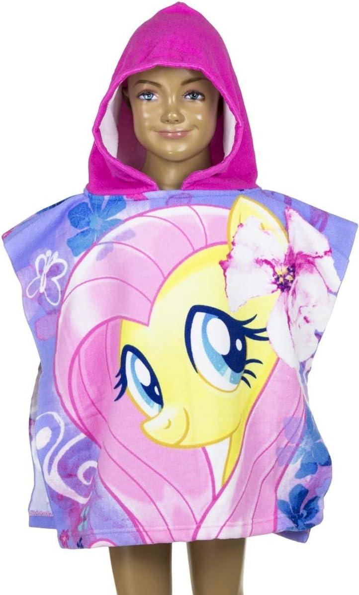 Strandtuch f/ür Kinder Badetuch //Bademantel Hasbro My Little Pony Kapuzen Poncho