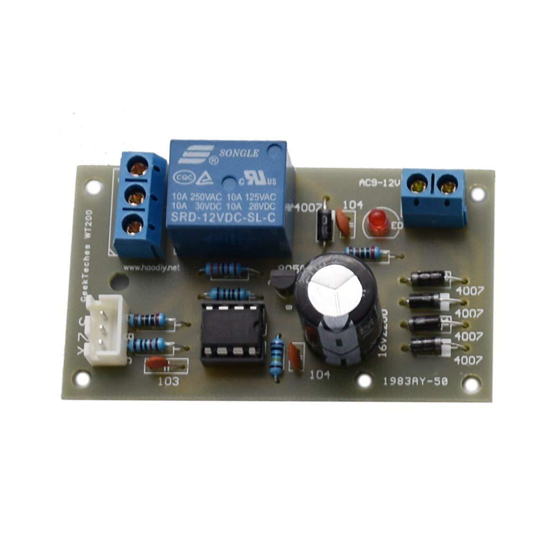 Controlador de nivel de l/íquido el/éctrico de 12 V M/ódulo sensor Sensor de detecci/ón de nivel de agua Tablero del sensor Sensor de flujo de combustible Interruptor de flujo de agua Multicolor