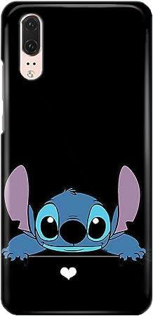 Coque téléphone pour Huawei P20 Lilo and Stitch Ohana Cute Sweet Disney 20 Dessins