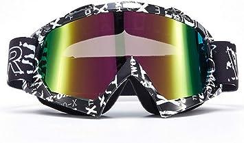 Lente Trasparente, Modello 1 Vemar mascherina occhiali Motocross enduro Sci Snowboard Antivento Antipolvere Antigraffio