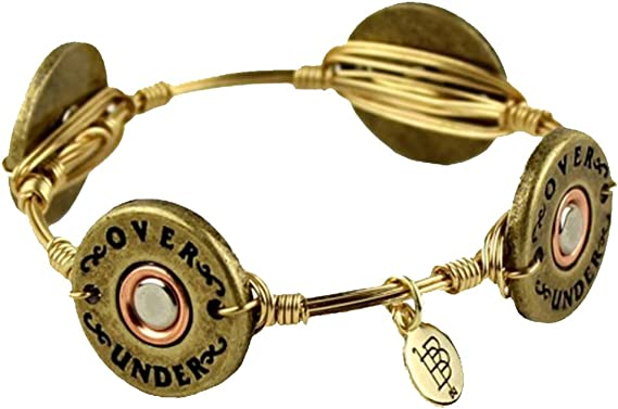 Over Under Bourbon & Boweties Shotgun Shell Bangle-Standard