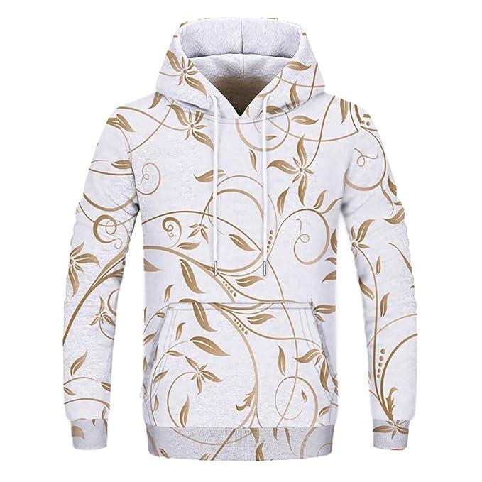 Internet-Suéter con Capucha Impreso de los Hombres, Camiseta Gruesa de Manga Larga, Sudadera con Capucha(Blanco S-3XL): Amazon.es: Ropa y accesorios