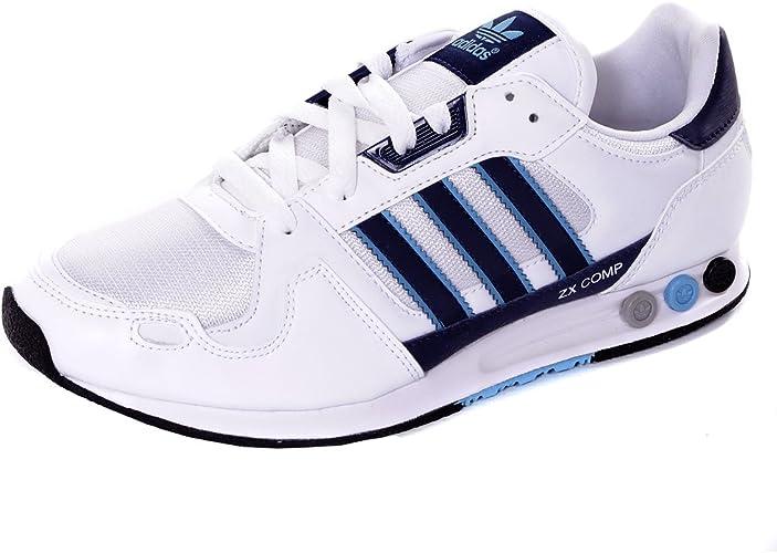 Autorizar regla Oclusión  adidas Originals ZX Comp Casual Trainers-White-UK7.5: Amazon.co.uk: Shoes &  Bags