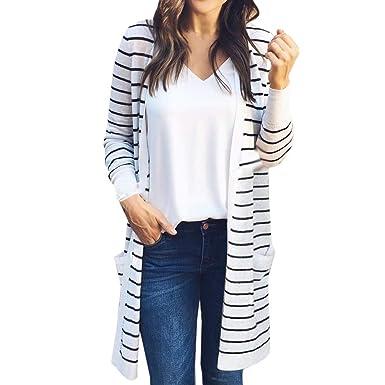 2018 Mode Femme Printemps Automne Hiver Élégant Outwear Loose Cardigan Long Gilet  Veste Revers Lâche Blazer d2646a994fa1