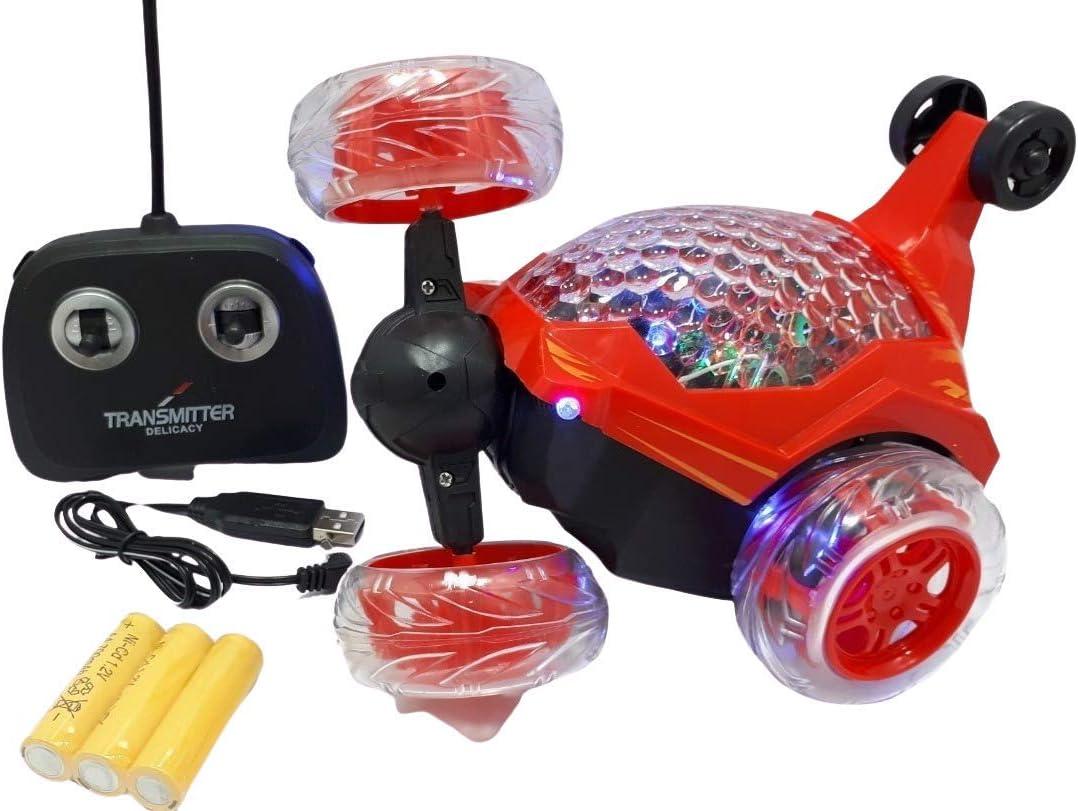 Carrinho de controle remoto maluco - DM Toys