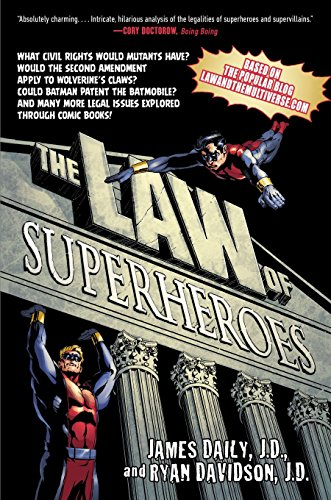 The Law of Superheroes by Avery