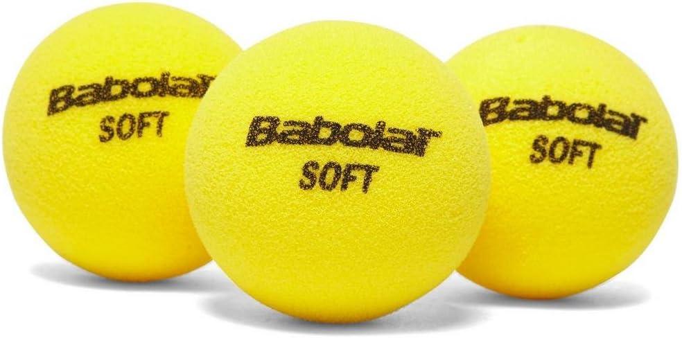 Babolat Soft Foam X3 Pelota de Tenis, Unisex Adulto, Amarillo ...