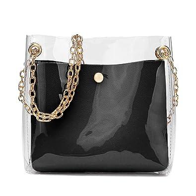 TEEGUI Fresh Lovely Women Fashion Solid Shoulder Bag Messenger Bag Cross body Bag Phone Coin Bag (Black): Handbags: Amazon.com