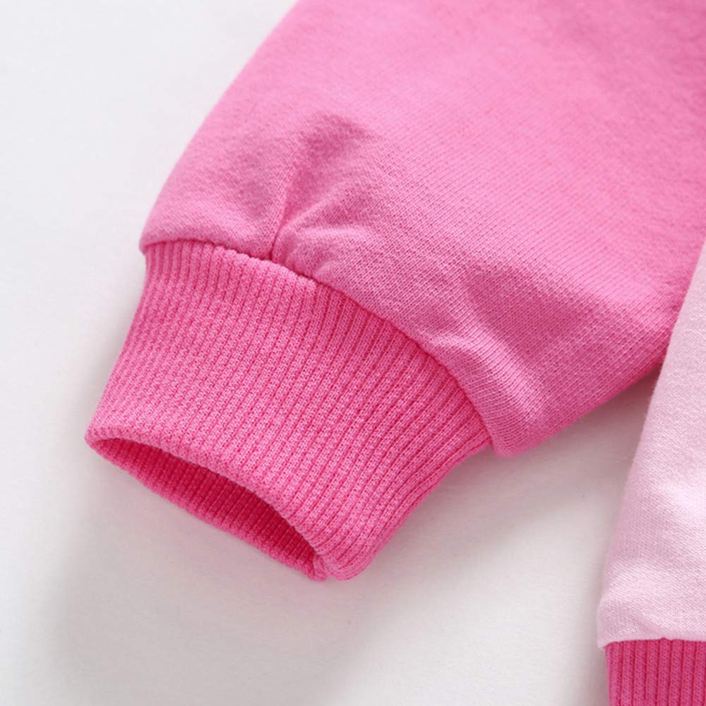 Suma-ma On Sale 3M-3T Kids Little Baby Boys Girls Winter Warm Hoodie Outwear Fashion Long Sleeve Coat Windproof Clothing