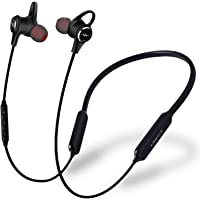LINNER NC50 Active Noise Cancelling Headphones - Up to 28dB Noise Cancelling Wireless in Ear Earbuds Bluetooth V4.1 Sports Neckband Magnetic Earphones with Deep Bass HD Stereo, 13-Hours Playtime