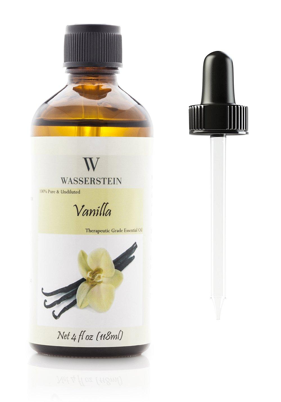 Wasserstein Aromatherapy Essential Oil, 100% Pure, 4 oz, Vanilla