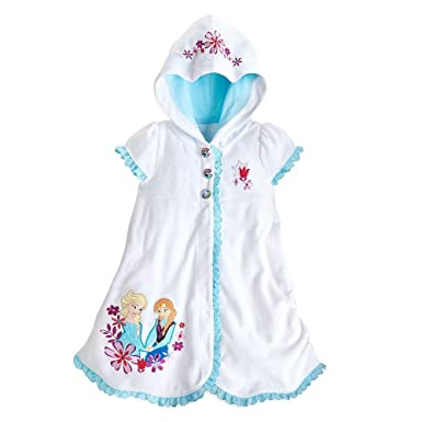 c6230dfe45 Image Unavailable. Image not available for. Color: Disney Store Frozen  Princess Elsa/Anna Swimsuit Cover Up ...