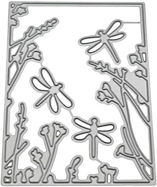 DIY Dragonfly Series Metal Cutting Dies Scrapbooking Paper Cards Decor Acces