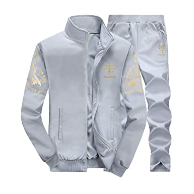 Men's Clothing *neu* Herren Men Jogginganzug Tracksuit Set Sport Shirt Hose *design*