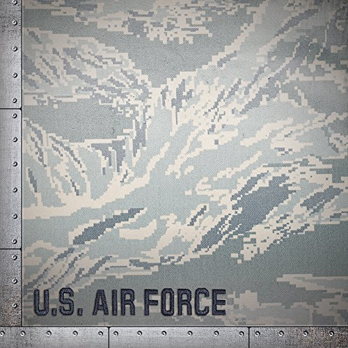 Paper House Productions P-0714E Heavyweight Paper, Air Force Camo, 12 by 12-Inch (25-Pack)