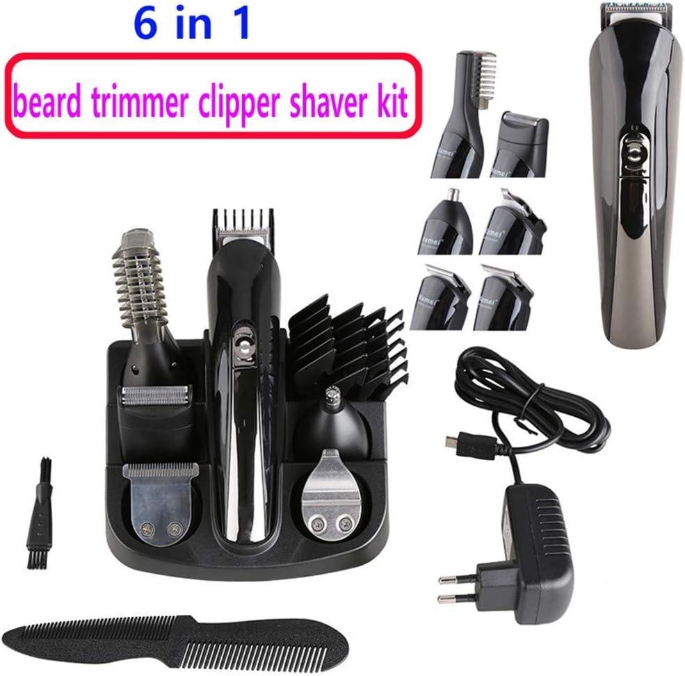 XIGG - Cortapelos eléctrico para la nariz y las orejas, afeitadora 6 en 1, afeitadora para rostro, mejillas, labios y menta.: Amazon.es: Hogar