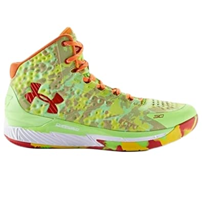 42282087377 Amazon.com | Under Armour BGS Curry 1 Candy Reign Youth Sz 5.5y Boys |  Basketball