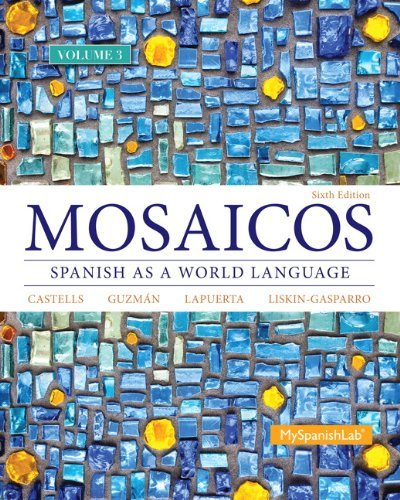 Read Online By Elizabeth E. Guzman - Mosaicos Volume 3 (6th Edition) (6th Edition) (2014-03-01) [Paperback] ebook