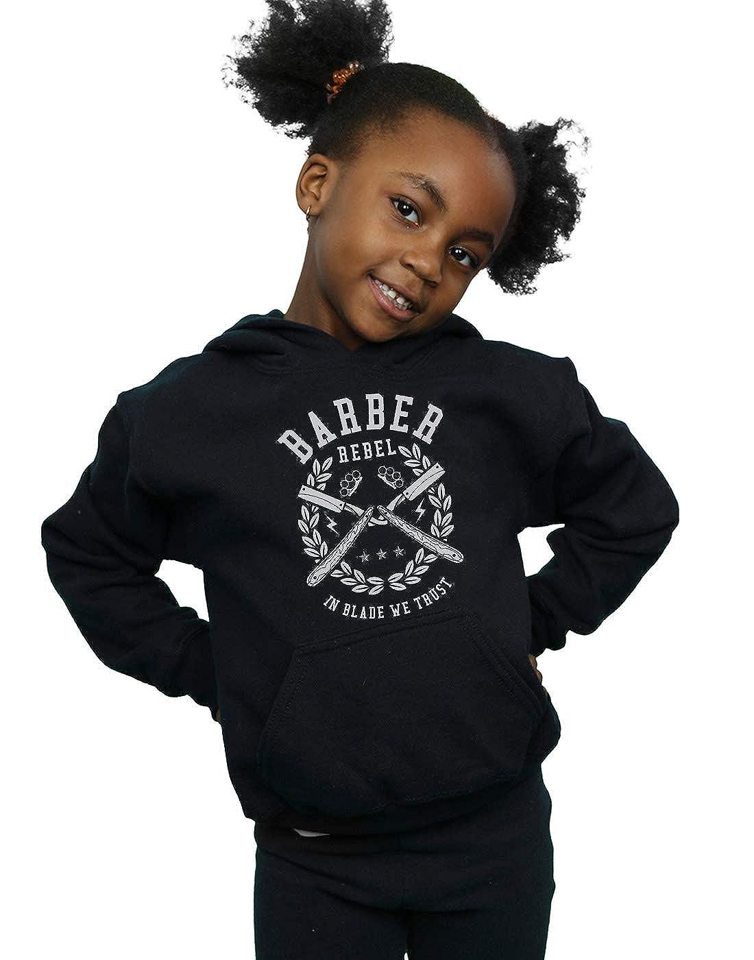 Drewbacca Girls Barber Rebel Hoodie