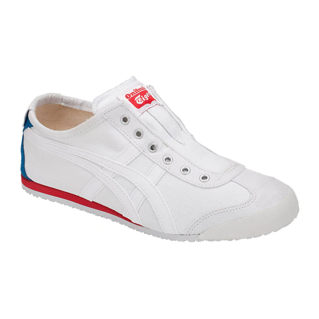 Onitsuka Tiger Mexico 66 Slip-On Classic Running Sneaker B07DRKWV6S 9.5 M US Women / 8 M US Men|White/White 2
