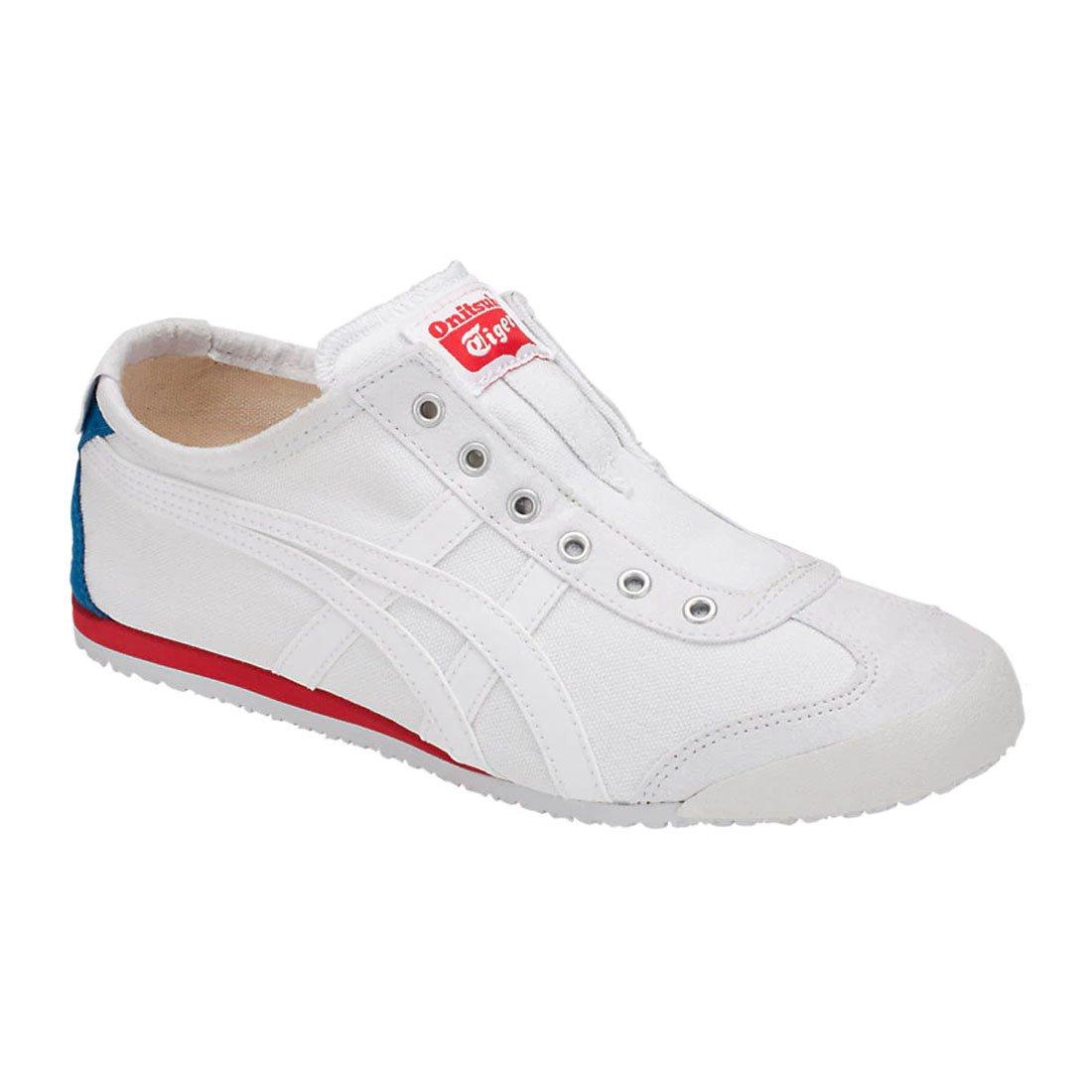 Onitsuka Tiger Mexico 66 Slip-On Classic Running Sneaker B07DRKQBGS 11 M US Women / 9.5 M US Men|White/White 2