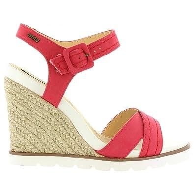 MTNG 53552 Rojo - Chaussures Sandale Femme WNR775MN - destrainspourtous.fr e1acb1c5f56