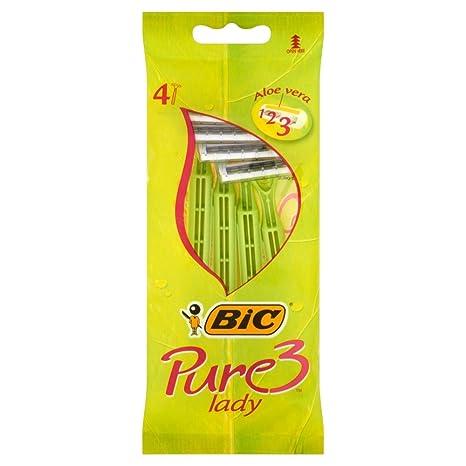 Resultado de imagen de cuchillas bic pure 3 lady