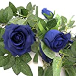 Jing-Rise-2pcs-65Ft-Artificial-Silk-Rose-Vine-Fake-Flower-Hanging-Garland-Artificial-Plants-for-Wedding-Party-Garden-Outdoor-Home-Hotel-Office-Shop-Arch-Wall-Mirror-Decoration-Royal-Blue