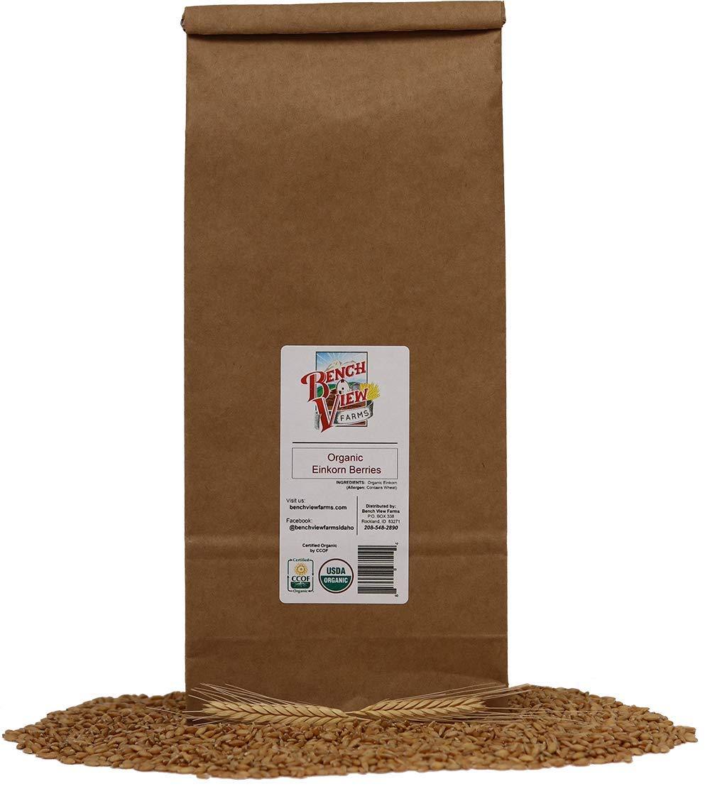 Organic Einkorn Wheat Berries - 3lbs