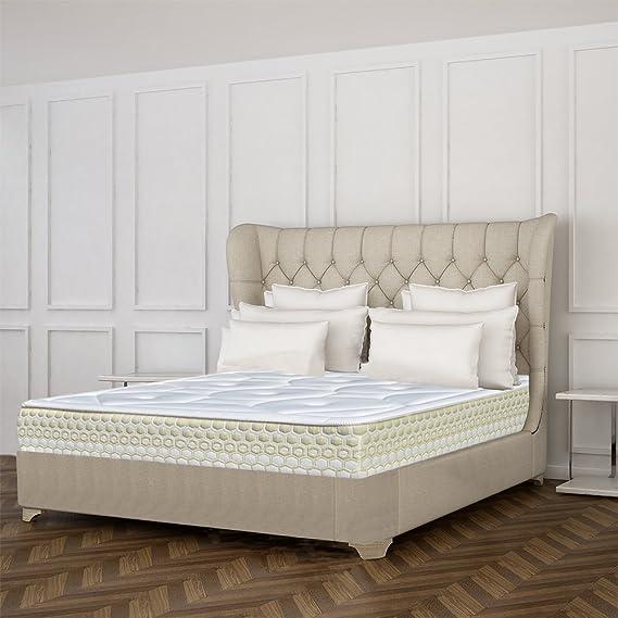 DAGOSTINO HOME Colchón Viscoelástico BOUTIQUE HOTEL FENIX 100 x 200 x 25 cm Confort y diseño de Hotel de 5 Estrellas, estudiado para el Satisfacer a Todo ...