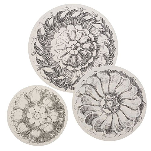 Hester and Cook Rosette Serving Papers by HESTER AND COOK DESIGN GROUP