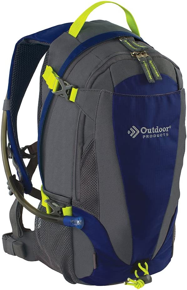 Outdoor Products Mist Hydration Pack with 2-Liter Reservoir, 14.3-Liter Storage