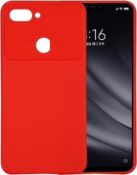 MaxQual Funda para Xiaomi Mi 8 Lite Funda, Fina de Silicona Funda ...