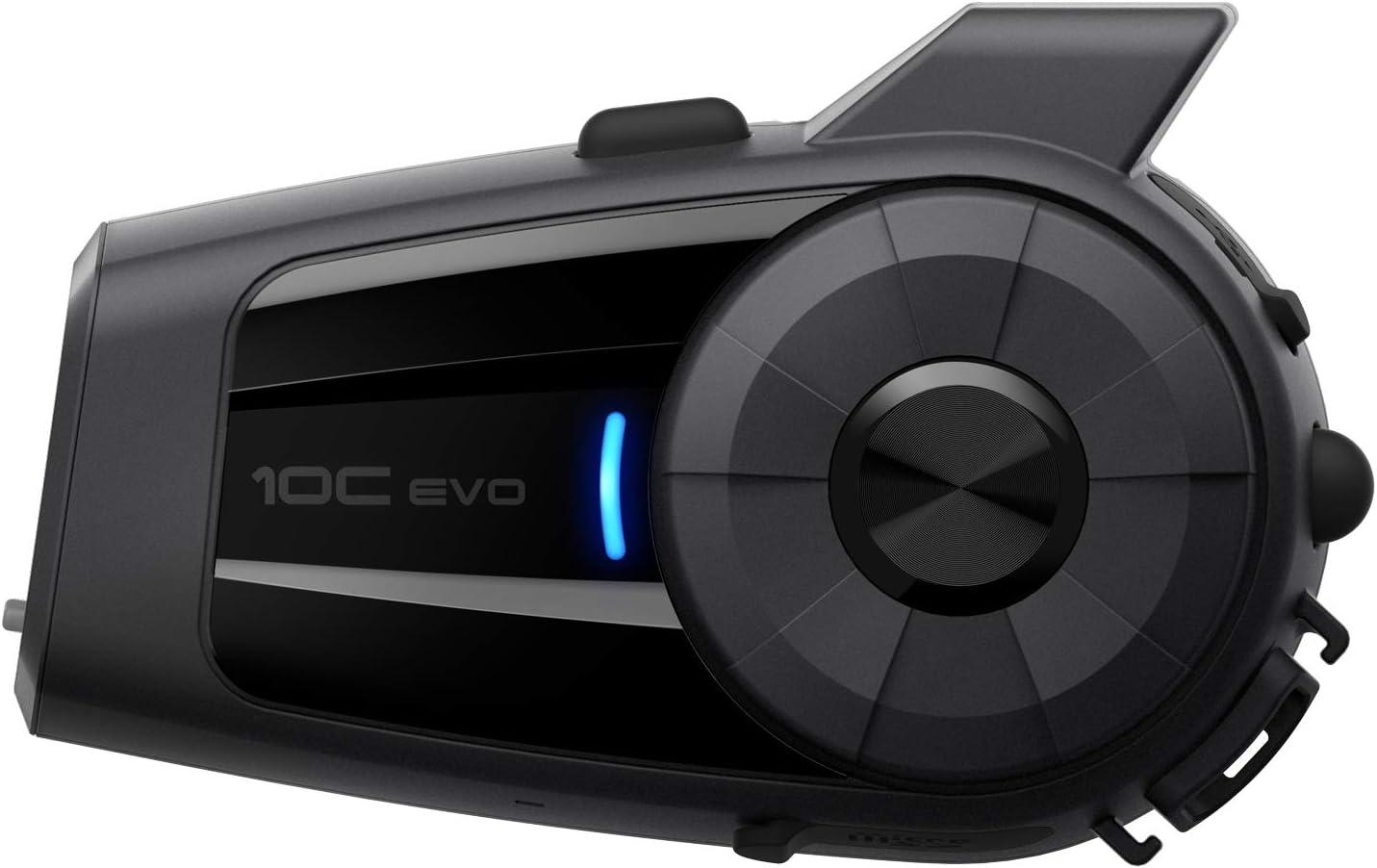 Sena 10C-EVO-01 Cámara Bluetooth para Motos, color Negro