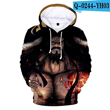 Amazon.com: WEEKEND SHOP 3D One Piece Anime Hoodies Men Pullovers Hooded 3D Hoodies Mens Sweatshirts: Clothing