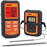 ThermoPro TP08 Wireless Termometro Digitale da Cucina Carne Forno Barbecue con Doppia Sonda per Cibo e Forno