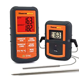 ThermoPro TP-08S Wireless Remote Digital Cooking Meat Thermometer