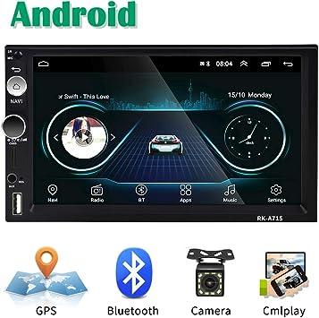 Android Coche Radio 2 DIN GPS CAMECHO 7 Pulgadas Pantalla táctil ...
